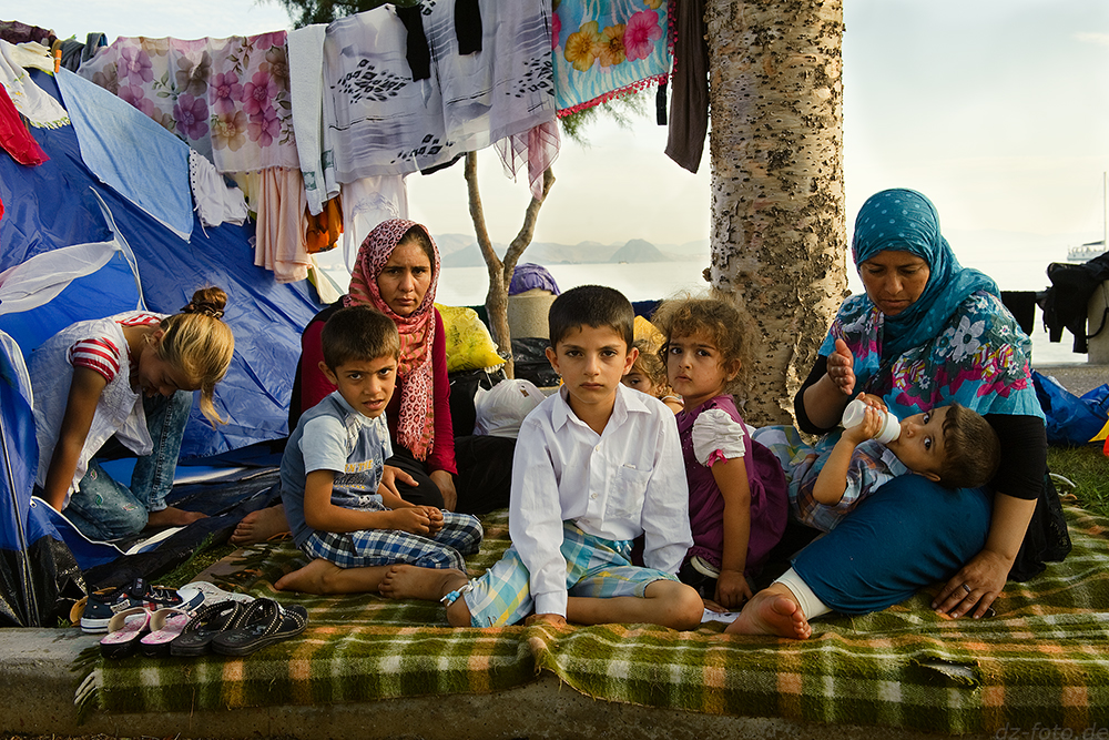 Refugees, Kos, Greece, 2015